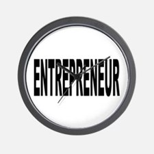 Entrepreneur Wall Clock