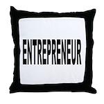 Entrepreneur Throw Pillow