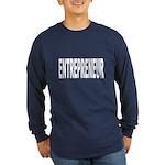 Entrepreneur (Front) Long Sleeve Dark T-Shirt