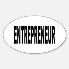 Entrepreneur Oval Decal