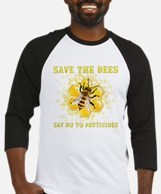 Save The Bees Baseball Jersey