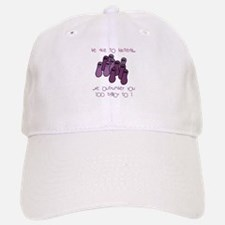 Be Nice to Bacteria Baseball Baseball Cap
