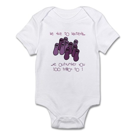Be Nice to Bacteria Infant Bodysuit