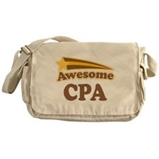 Awesome CPA Messenger Bag