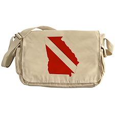 Georgia Diver Messenger Bag