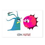 Germ Warfare Postcards (Package of 8)