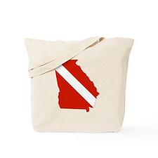 Georgia Diver Tote Bag