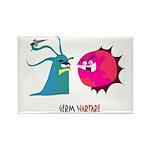 Germ Warfare Rectangle Magnet (10 pack)