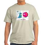 Germ Warfare Ash Grey T-Shirt