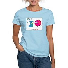 Germ Warfare Women's Pink T-Shirt