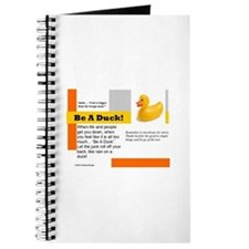 Be A Duck! Journal