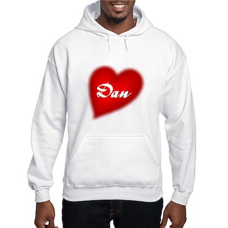 I love Dan Hooded Sweatshirt