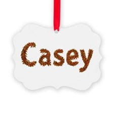 Casey Fall Leaves Ornament