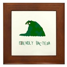 Fiendly Bacteria Framed Tile