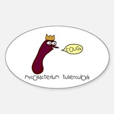 Tuberculosis Oval Decal