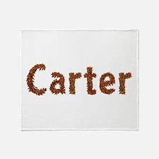 Carter Fall Leaves Throw Blanket