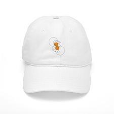 Basketball Crop Circle Baseball Cap