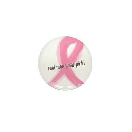 real men wear pink Mini Button (10 pack)