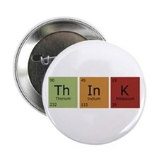 """Think 2.25"""" Button (10 pack)"""