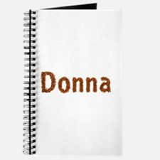 Donna Fall Leaves Journal