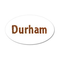 Durham Fall Leaves Wall Decal