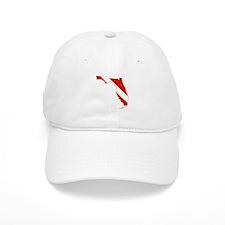 Florida Diver Baseball Cap