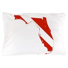 Florida Diver Pillow Case