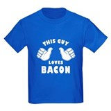 Bacon Kids T-shirts (Dark)
