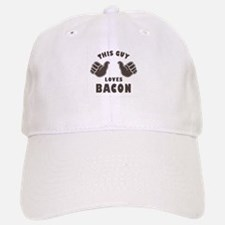This Guy Loves Bacon Baseball Baseball Cap