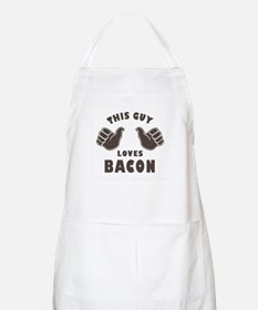 This Guy Loves Bacon Apron