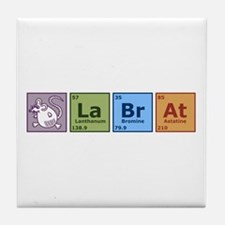 Periodic Lab Rat Tile Coaster