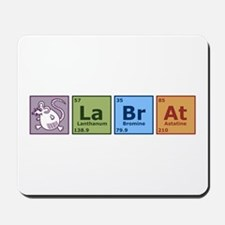Periodic Lab Rat Mousepad