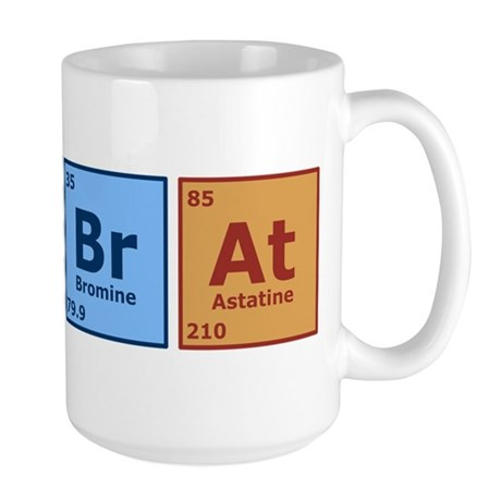 Periodic Lab Rat Large Mug