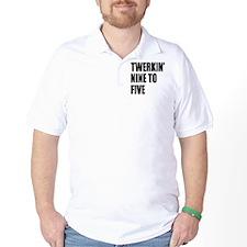 Funny Twerkin 9 to 5 T-Shirt