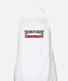 """The World's Greatest Cheapskate"" BBQ Apron"