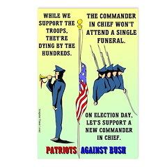 Patriots Against Bush Postcards (8)