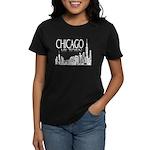 Chicago My Town Women's Dark T-Shirt