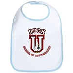 What the Duck University Bib