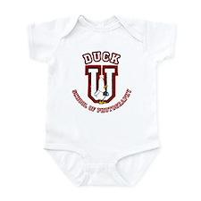 What the Duck University Infant Bodysuit
