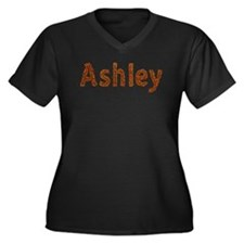 Ashley Fall Leaves Plus Size T-Shirt