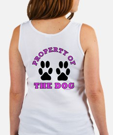 Property of the Dog POCKET pink Tank Top