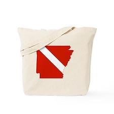 Arkansas Diver Tote Bag