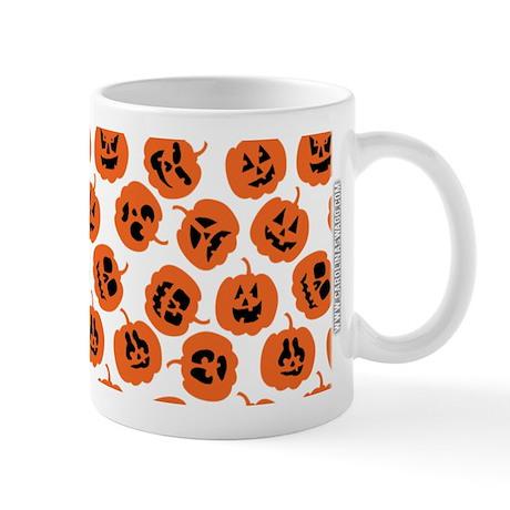 Halloween Pumpkin Pattern Mug