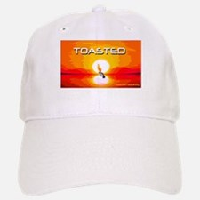 Toasted Planet Flaming Penguin Baseball Baseball Cap
