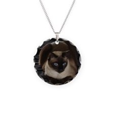 Lulú, the Siamese Cat Necklace