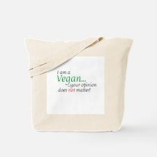 Vegan Attitude Tote Bag