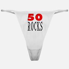 50 ROCKS Classic Thong
