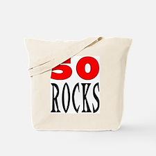 50 ROCKS Tote Bag