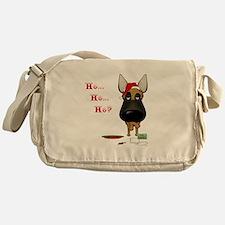 Malinois Santa Messenger Bag