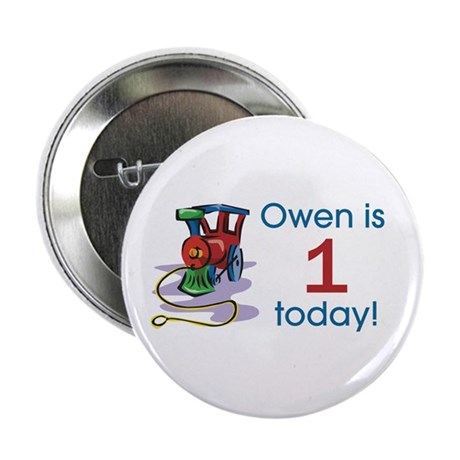 Owen is 1 Today Button